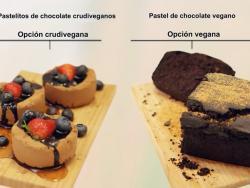 ¿Pastelitos de chocolate veganos o crudiveganos?
