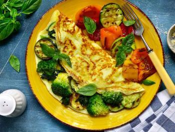 ¿Aún no tomas verdura para desayunar?