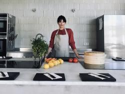 Vanessa Losada, ecochef y estilista culinaria. Presenta la décima edición de su curso anual de Biococina en Madrid