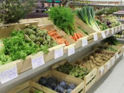 Comed productos locales y de temporada durante siete días