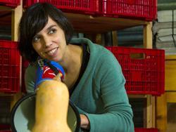 Esther Vivas, escritora e investigadora en movimentos sociales y políticas agrícolas