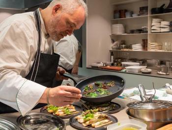 """""""Este restaurante es mi casa"""": Xavier Pellicer, cocinero"""