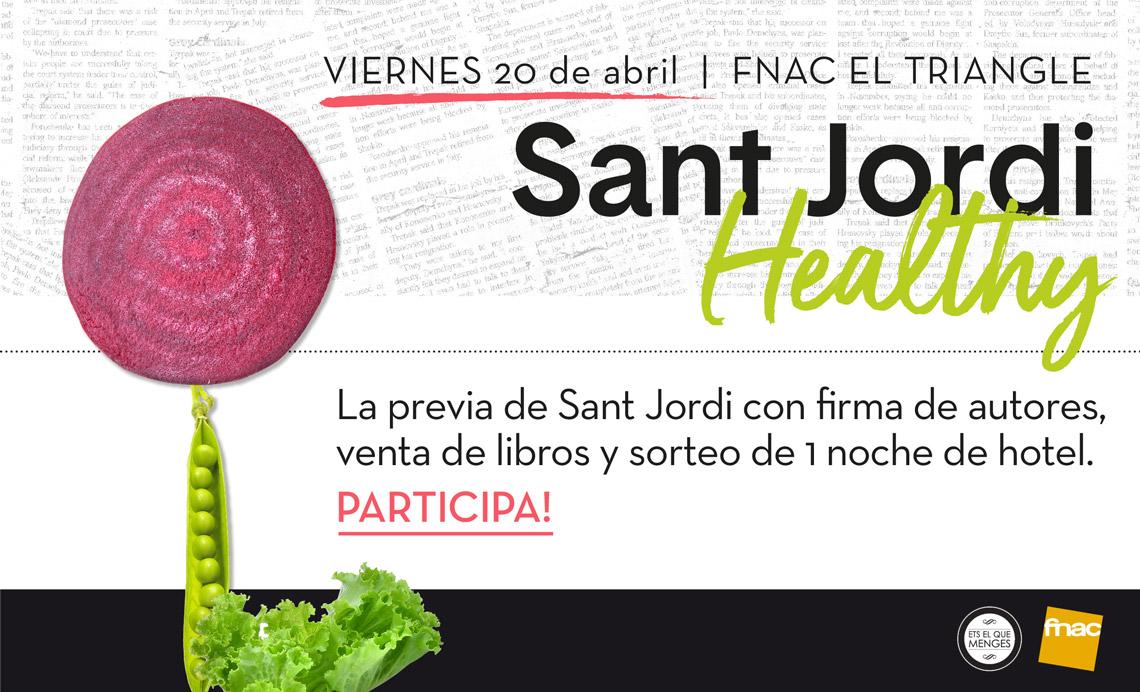 banner Sant Jordi Healthy